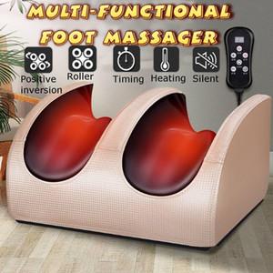 220V Elektrikli Isıtma Ayak Vücut Masaj Rahatlama Yoğurma Merdane Vibratör Makinesi Refleksoloji Buzağı Bacak Ağrı Kesici Relax