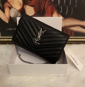 2019 neue Art und Weise Schulter-Beutel-Kette für Männer und Frauen Basis-Handtaschen PU-Qualitäts-Umhängetaschen heißen Verkauf-61x8