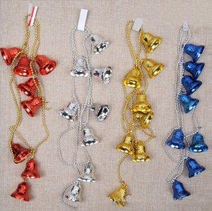 Árbol de navidad que cuelgan del regalo de Navidad Adornos partido de la decoración colgante de los cascabeles suministra la decoración de accesorios