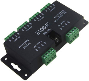 WS2812B WS2811 SPI Signal Amplifier Repeater, for WS2813 SK6812 WS2815 WS2801 RGB Addressable Dream Color LED Pixel Strip Light(DC5-24V)