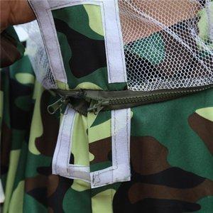 Bee Apiculteur Vêtements et Cap Camouflage Professional Apiculteur Protection Équipement de sécurité Jeu d'outils de protection Apiculture