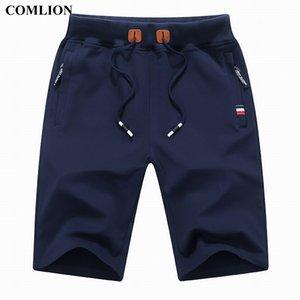 COMLION New Arrival Hommes Shorts Summer Marque Shorts Casual Hommes Coton Homme élégant Casual shorts de plage Homme Pantalon court Plus 1A Y200511