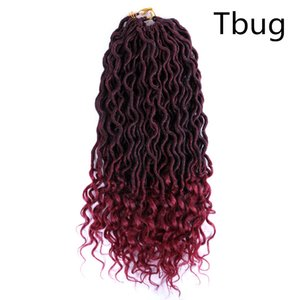 LansO 12 Inch Passion Twist Hair Crochet Braids Hair 60g pc Synthetic Ombre Pre looped Fluffy Spring Bomb Twists Braiding Hair Extension