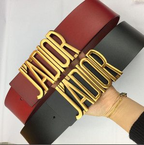 Cinturones 7cm de la hebilla de las mujeres del diseñador F Cinturones estilo europeo Marca Pretinas real de alta calidad de piel g0JAOIDR