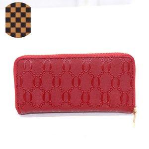 d esigner Taschen der Frauen 2020 neue koreanische Version von Männern und Frauen langen Runde einzige Zug Brieftasche Reißverschluss Handtasche Trend Geldbörse geprägt