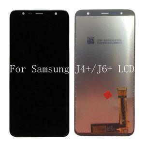 Para samsung galaxy j4 + 2018 j4 plus j415 j415g j415m j6 mais 2018 j610 j610f display lcd 6.0 '' conjunto de exibição de tela de lcd