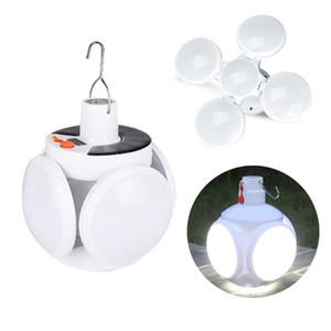 LED Güneş Ampul Su geçirmez Güneş Enerjili Şarj edilebilir USB Ampul Işık 3 parlaklık seviyesi Acil Kamp Güneş Bahçe aydınlatması