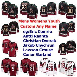 Arizona Coyotes Jerseys Womens Jason Demers Jersey Alex Goligoski Niklas Hjalmarsson Aaron Ness Oesterle Ice Hockey Jerseys Custom Stitched
