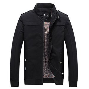 Yeni Ceketler Parka Erkekler Yüksek Kalite Sonbahar Kış Sıcak Katı Dış Giyim Marka Erkek Mont Sıcak Satış Rahat Windbreak Ceketler erkekler