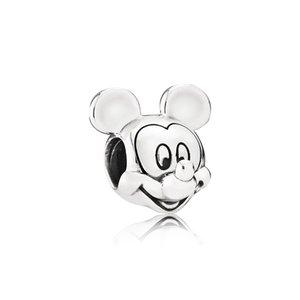 Charm petit bracelet animal perles luxe 100% 925 argent sterling de haute qualité adapté à la boîte originale Pandora perles bracelet mis bricolage