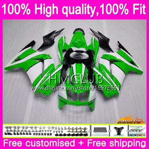 Injection For KAWASAKI EX250 ZX250 R EX250R 08 Green Gloss 24HM.36 ZX 250R EX 250 R ZX250R 08 09 10 11 12 2008 2009 2010 2011 2012 Fairing