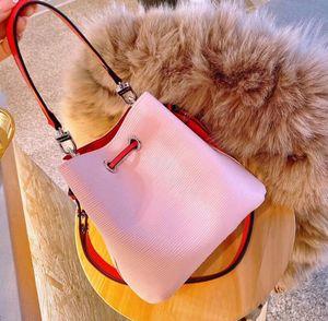 lüks tasarımcı çanta çantalar wpmen kadın crossbody totes eşleşen Klasik su dalgalanma kova çanta omuz çantası moda rengi