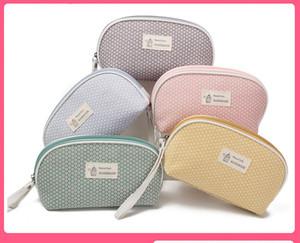 La alta calidad nueva marca de moda bolsa de cosméticos portátil de almacenamiento de bolsa de la colada del recorrido recorrido del bolso LBL11