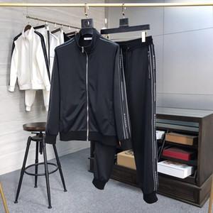 2020 G para hombre chándales escenógrafo (chaqueta + pantalones de diseñador) para hombre del chándal de alta calidad de impresión de la letra los hombres de lujo breaethable chándal