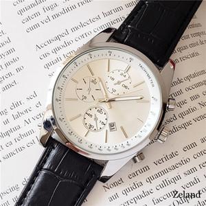 Luxus Männer Uhren Quarzwerk hugo Uhr für Männer Lederarmband Chef Uhrqualität wasserdicht Designer-Uhr-beiläufige montre de luxe