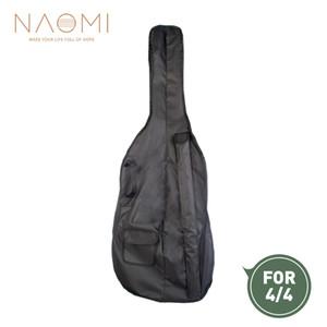 NAOMI 4/4 Viyolonsel Yumuşak Çanta Case 4/4 Viyolonsel Gig Bag W / Kayış Dayanıklı Viyolonsel Çanta Yüksek kalite Yeni