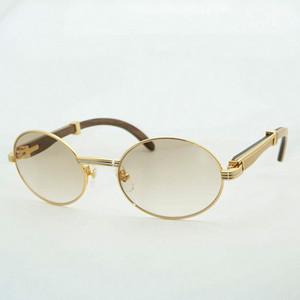 파티 클럽 야외 운전 라운드 Eyeglasse 액세서리 듀얼 컬러 남성 선글라스 목재 카터 안경 빈티 안경 레트로 태양 안경