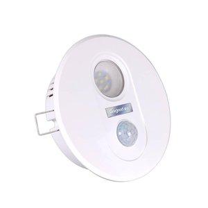 Geagood Menschliche Körper-Sensor-Licht-LED-Infrarot-Sensor-Lampe 7W Einbauleuchte für Stairway Korridor Aisle Balkon