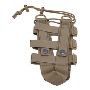 Bolsa botella de agua al aire libre de la bolsa engranaje táctico Hervidor hombro de la cintura para aficionados del Ejército Escalada de excursión que acampa Bolsas