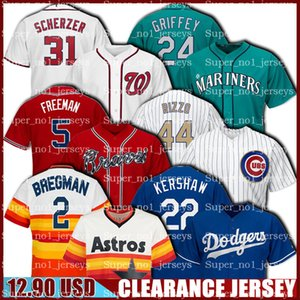 Apuramento Alex Bregman Jersey Clayton Kershaw Jerseys Freddie Freeman Anthony Rizzo Max Scherzer Ken Griffey Jr Cheap Baseball Jersey barato