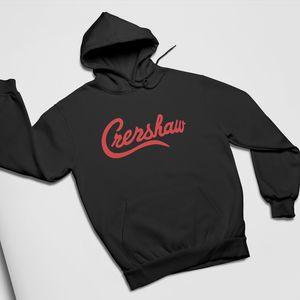 Креншоу Hoodie Hip Hop Nipsey Hussle Креншоу Назад Printed Толстовка с капюшоном с длинным рукавом пуловер весна осень мужские толстовки