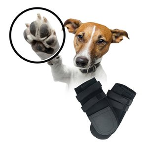 2 Pcs lot Winter Pet Dog Shoes Boots Anti-slip Snow Pet Paw Protector Warm Breathable For S-XL Dogs Easy To Wear