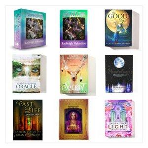 48 cartes oracle terre magique destin mystérieux ead carte de jeu de carte tarot Pour les jouets éducatifs pour enfants usage personnel