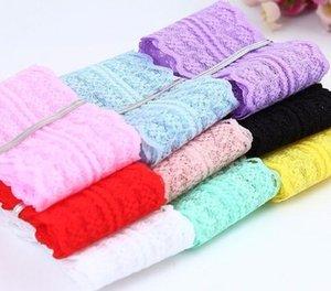 Ruban bon marché de garniture de tissu de dentelle de largeur de 45mm 10yard / lot accessoires de vêtement de DIY brodés ruban