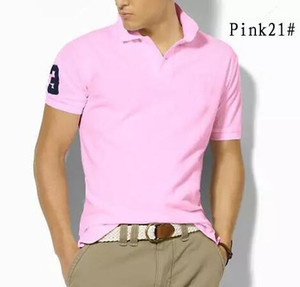 2019 Spring luxe Italie T T-shirt Designer Polos High Street broderie crocodile grand cheval impression Vêtements pour hommes Marque Polo