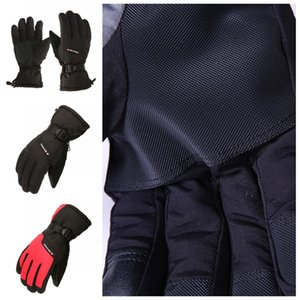 Motorrad Outdoor-Winter-wasserdicht Sport-Handschuhe 4 Farben Allwetterwasserdicht Thermal Skifahren Reiten Radfahren Handschuhe für Männer Geschenk H905R