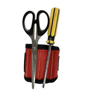 المغناطيسي الاسورة الجيب أداة حزام الحقيبة مسامير حامل أدوات القابضة أساور مغناطيسية قوية العملية تشاك المعصم أدوات
