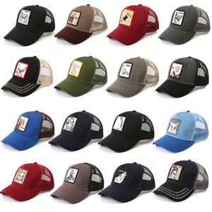 Nueva Granja de animales Goorin Bros gorro Ojo del partido de béisbol del casquillo del sombrero del tigre del sombrero de Cosplay Pulsación de león gorra de béisbol del camionero