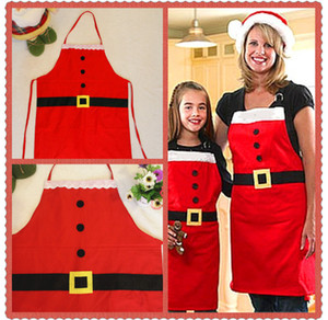 جديد عيد الميلاد المئزر الديكور الكبار النسيج لوازم المطبخ الطبخ لعيد الميلاد سانتا حزب الكرتون ساحة الديكور XD21236