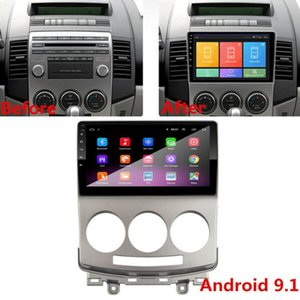 9 inç Android 9.1 Araba Radyo Stereo GPS MP5 Multimedya Player 1 GB + 16 GB Formazda 5 05-10 MP5 Araba Oyuncu Dört Çekirdekli Dokunmatik Ekran