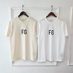 2020 Europa Hip Hop kühle Gottesfurcht FOG FG 3M Reflective-T-Shirt Skateboard-T-Shirt Männer Frauen USA Größe Baumwolle Kurzarm T-Shirt Cool