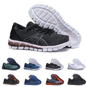 zapatos gel chaussures asics shoes GEL-Quantum 360 SHIFT Stability - Chaussures de course respirantes pour hommes vert noir blanc bleu baskets pour hommes