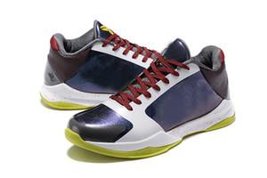 V Anillos Finales zapatos de baloncesto Liberadas alta calidad de las nuevas llegadas de los hombres Caos zapatilla de deporte 5s departamento de la venta en línea tamaño envío libre 7-12