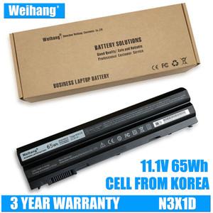 Bateria Weihang Bateria Coréia Para 65WH N3X1D Bateria Do Portátil para DELL Latitude E5420 E5430 E5520 E5530 E6420 E6520 E6430 E6440 E6530