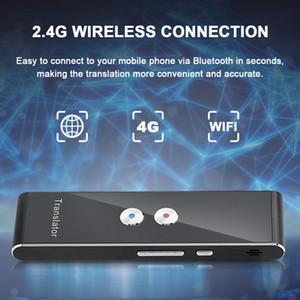Nouveau Translator Portable intelligent Bluetooth voix vocale multi traducteur de langue instantanée sans fil 41 Deux voies Hi-Fi en temps réel Traduction bâton
