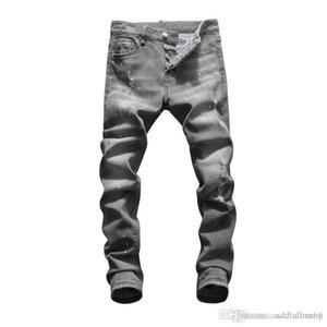 2020 Mens Designer Pants New Style Skinny Sweatpants Mens Designer Jeans Drop Crotch Jogging luxury Hip Hop men s clothing