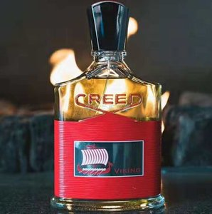 In Stock Red Creed Viking perfume for men long lasting time high quality amazing smell fragrance Free Shipping 100ml