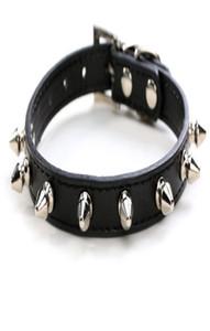 DHL noir clouté chaîne collier clouté tactique collier de chien avec Nom Argent Rose Collares Para Perros Violet clouté chien étrille collier