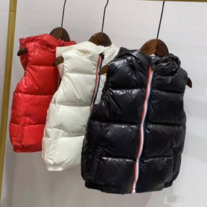 best shipping children winter down vest feather weskit jackets kids casual vests coat down coat outer wear size:110-150
