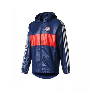 Sports casual jacket windbreaker Windbreaker coat coatmen's football training suit fitness running coat BS0119