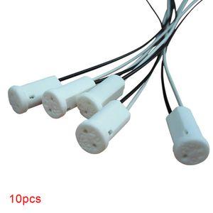 10pcs de alta qualidade 50CM cristal Lamp Lamp Holder SocketG4 LED / G4 / Bulb Plug12V 10-20W Acessórios