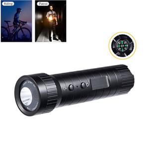 Motorrad-Sturzhelm Zubehör 1080P Taschenlampe DV wasserdichten Outdoor-HD Sports Tätigkeits-Kamera mit High Capacity Battery Compass + 32GB Speicher