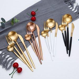 Cena Sale Wester Cutlery Set Cuchillos Calidad Cucharas Calientes Cocina Horar