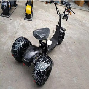 lityum pil Çoklu renk citycoco şehir kokopit kamp Elektrikli motosiklet 60V maksimum güç 1000W araba aksesuarları