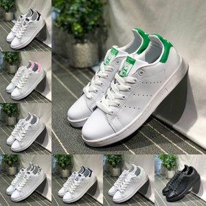 Vender Hot 2020 New Originals Stan Smith sapatos baratos Mulheres Homens Sneakers Casual Couro Superstars Skate perfuração White Girls Blue Shoes