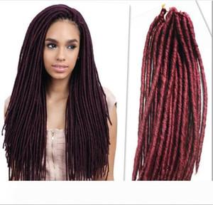 20inch 24strands per pack janet collection locs havana mambo faux locs crochet locks hair havana mambo dreadlocks black women wavy curly